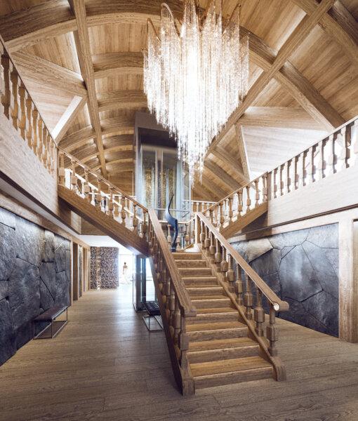 Black Tourmaline Stairway