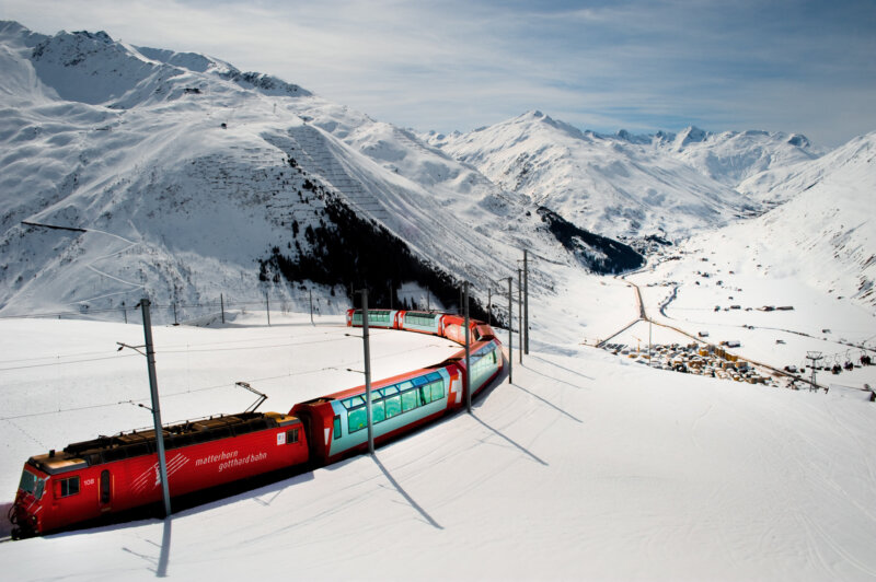 Andermatt Journey Train