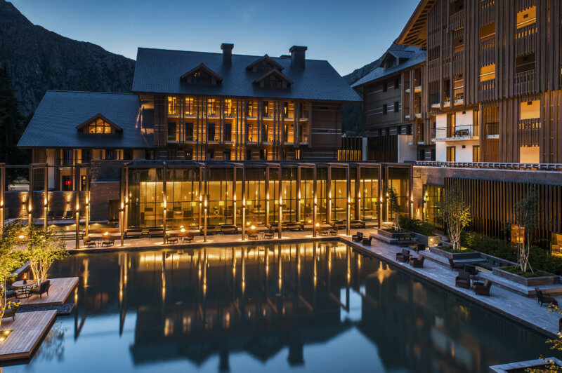 The Chedi Services The Courtyard