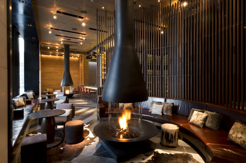 The Chedi Services The Bar and Living Room
