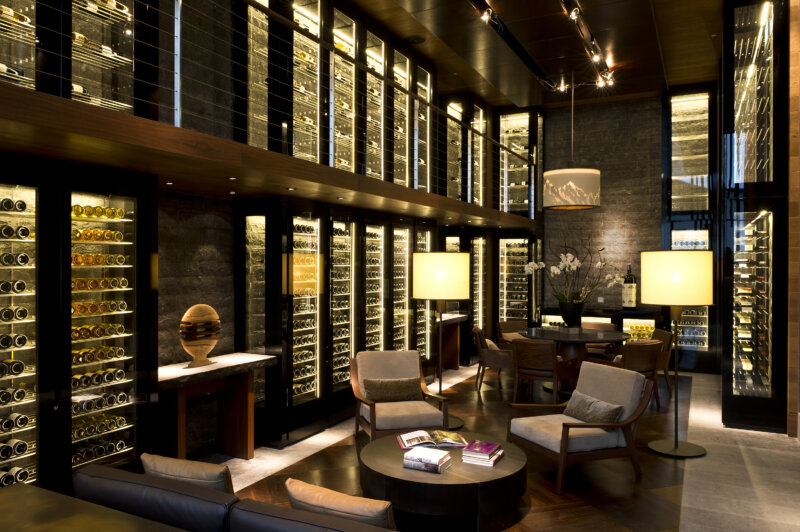 The Chedi Services The Wine and Cigar Library