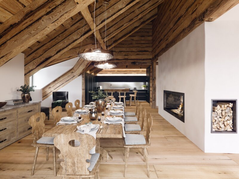 Mountain Crystal Dining Room