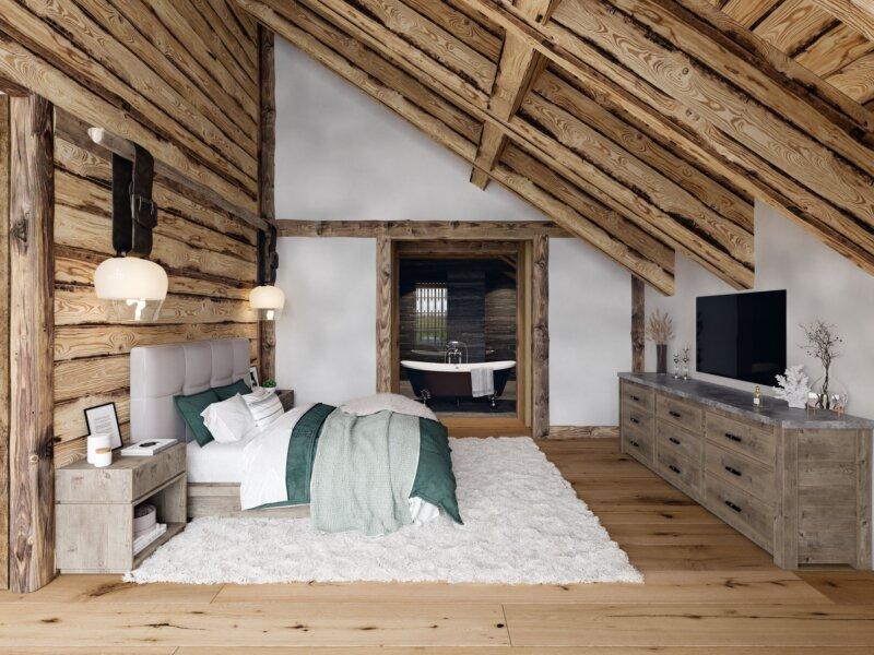 Mountain Crystal Bedroom