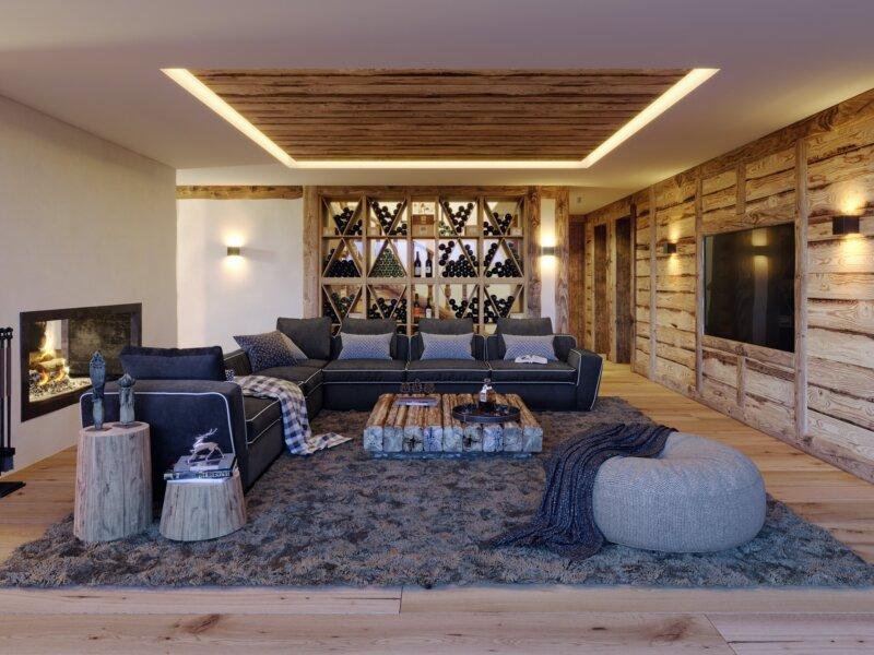 Mountain Crystal Living Room
