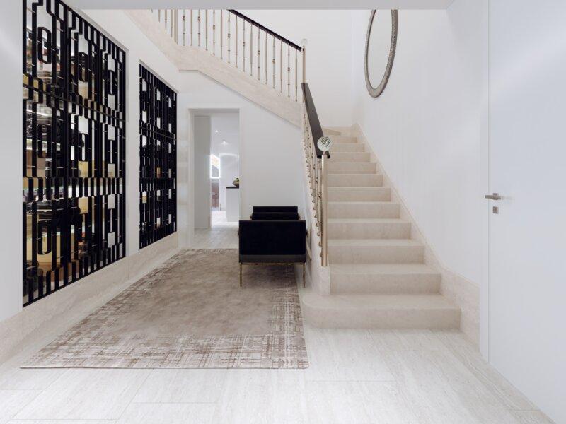 Rose Crystal Stairway