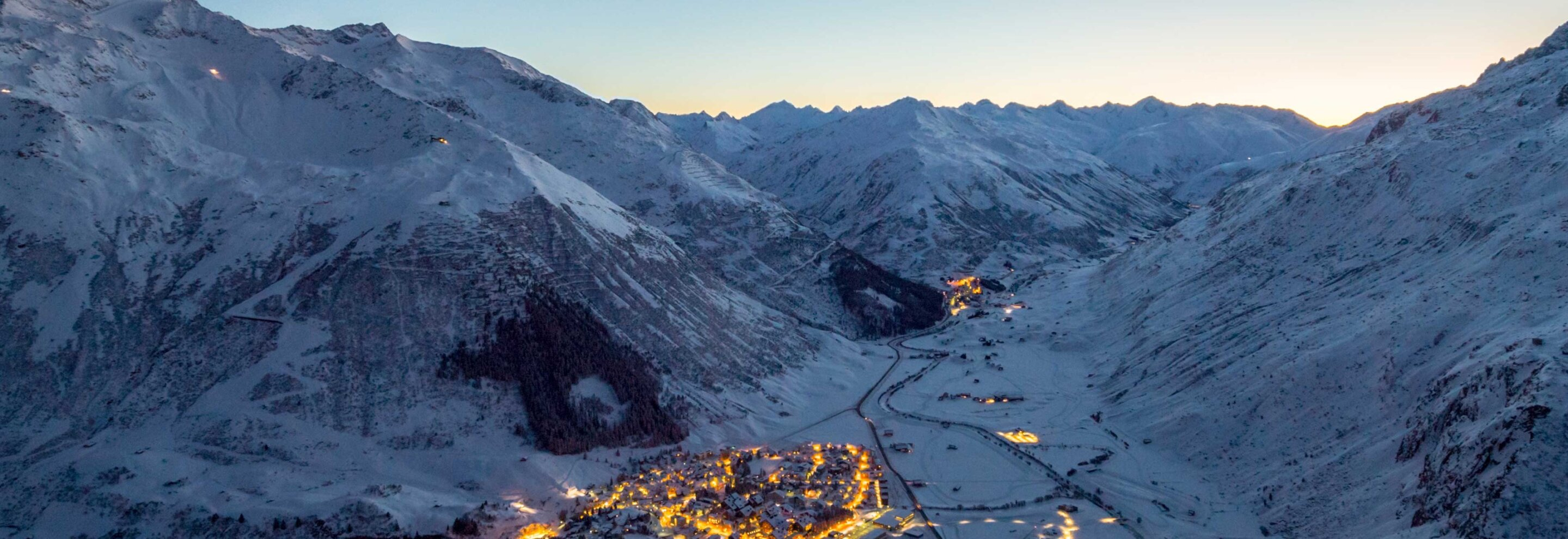 Andermatt Panorama Night